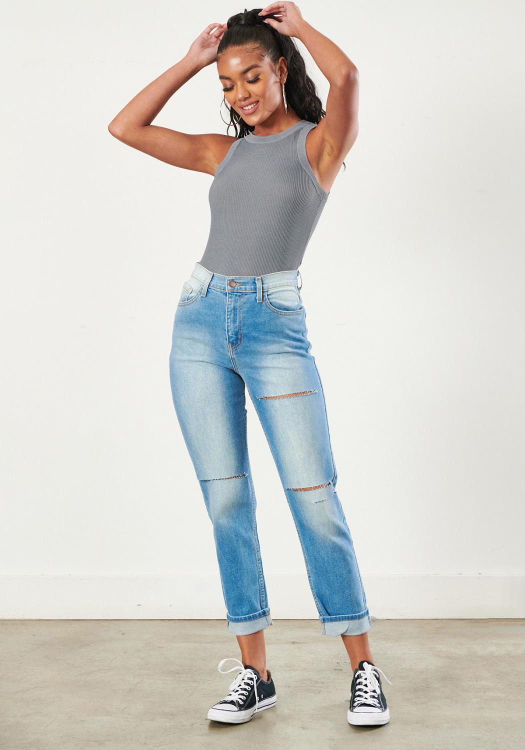 Back to 90s Mom Jeans