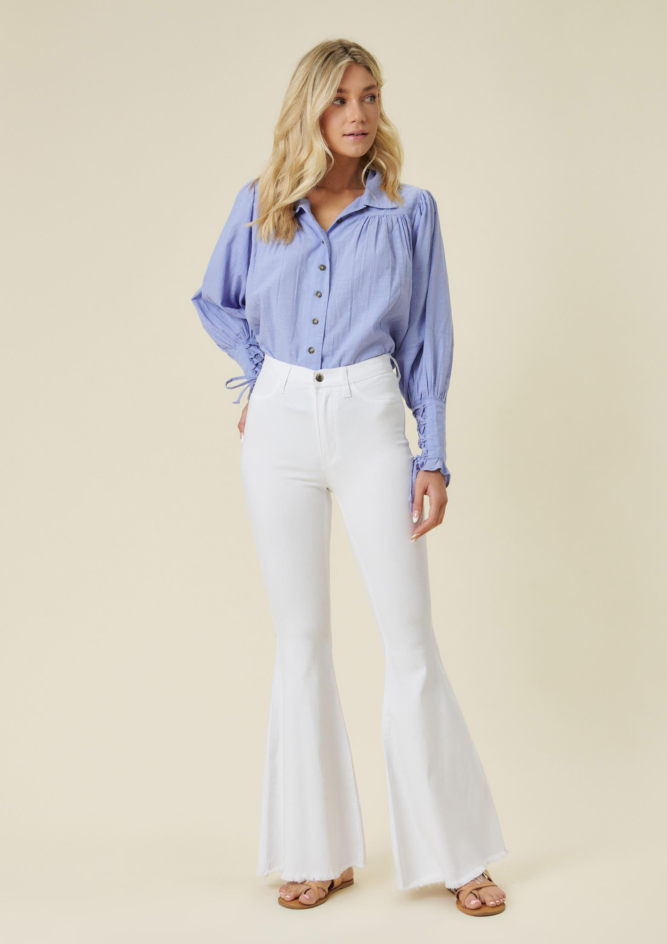 Down on Earth Flare Jeans