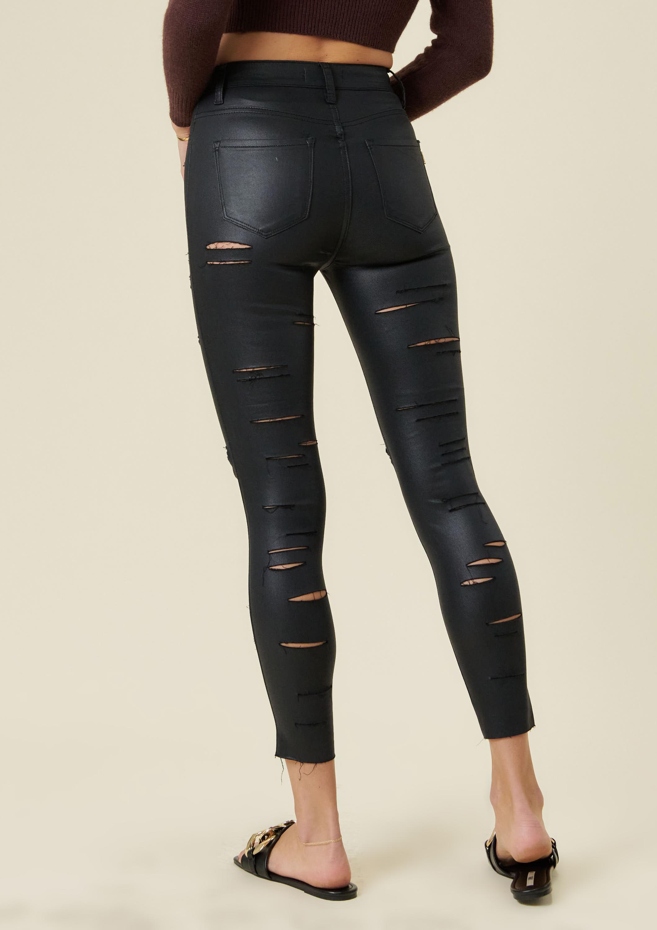 Fearless Coated Skinny Jeans