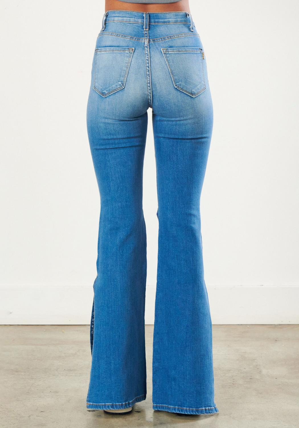 Going Fly Flare Jeans