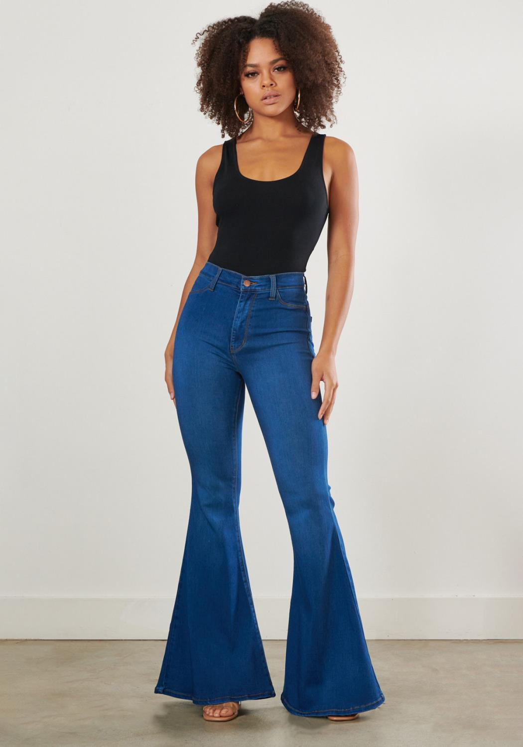 Popstar Flare Jeans