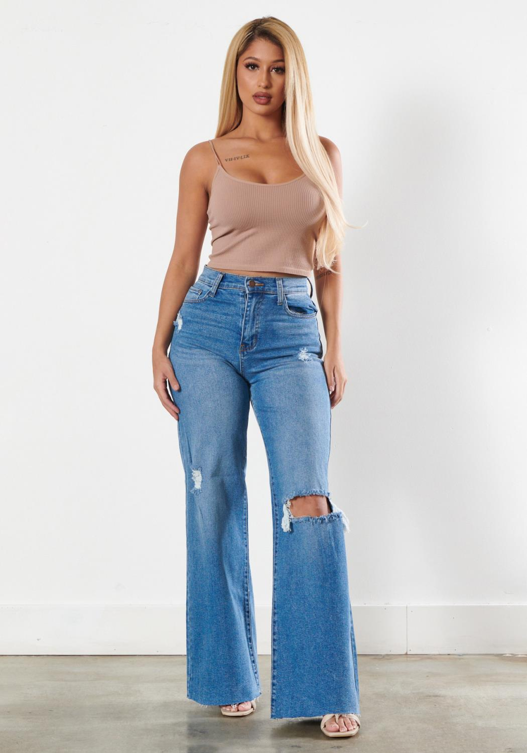 90s Baby Wide Jeans