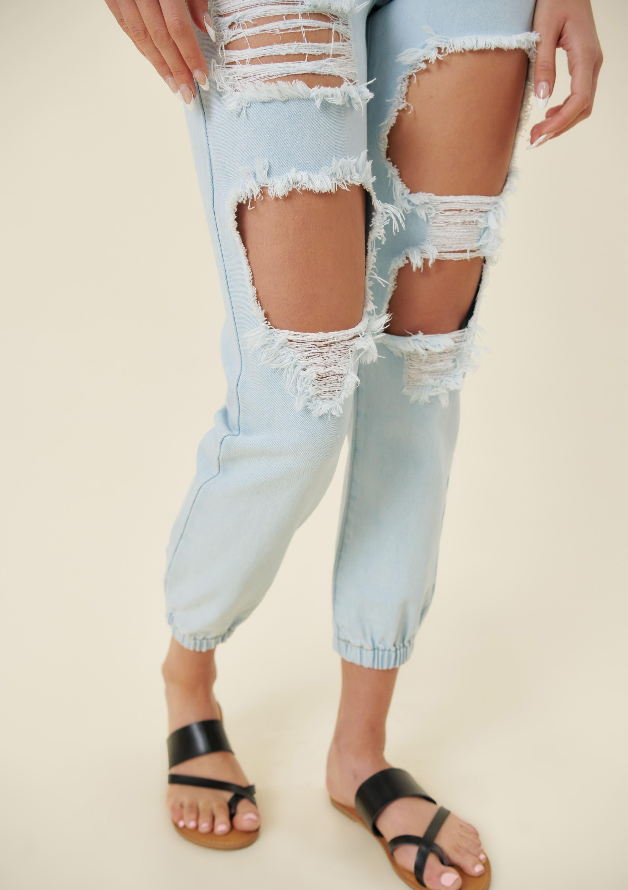 Angel Jogger Jeans