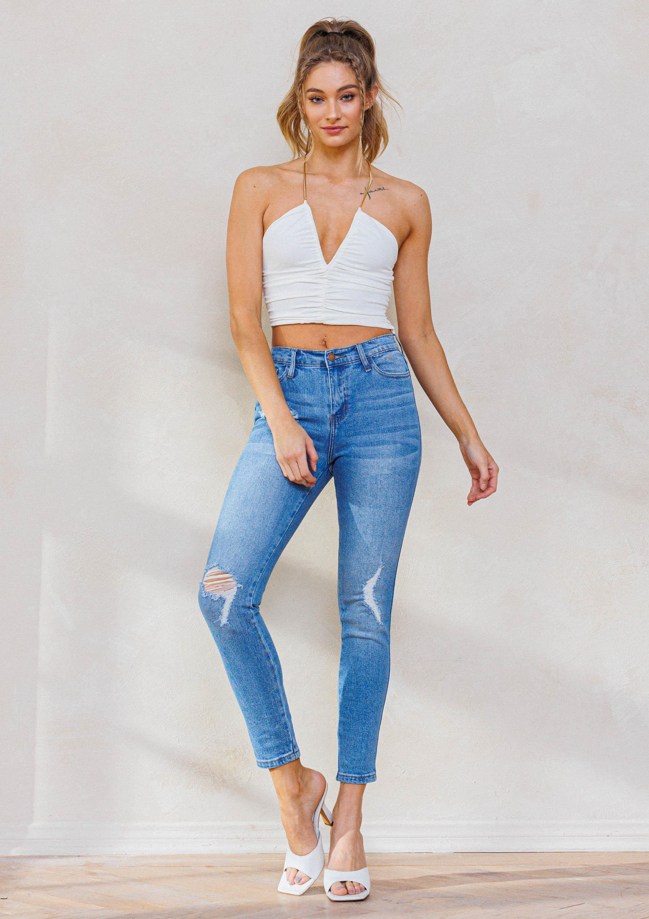 Keeper Ankle Jeans
