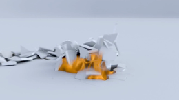 Cracks And Fire