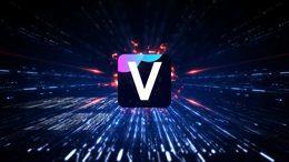 Digital Technology Tunnel Logo Sting