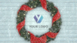Christmas Wreath Logo