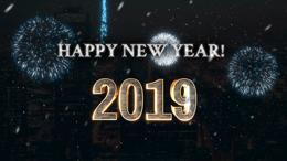 Glitzy New Years Countdown