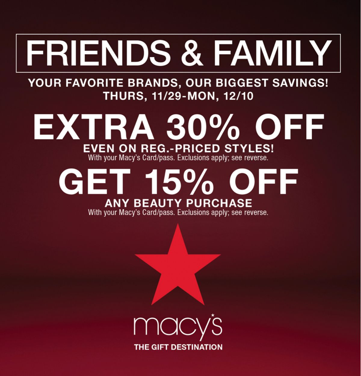 14783d9c004 15% off Beauty Fragrance during Macy s Friends   Family - Macys Style Crew