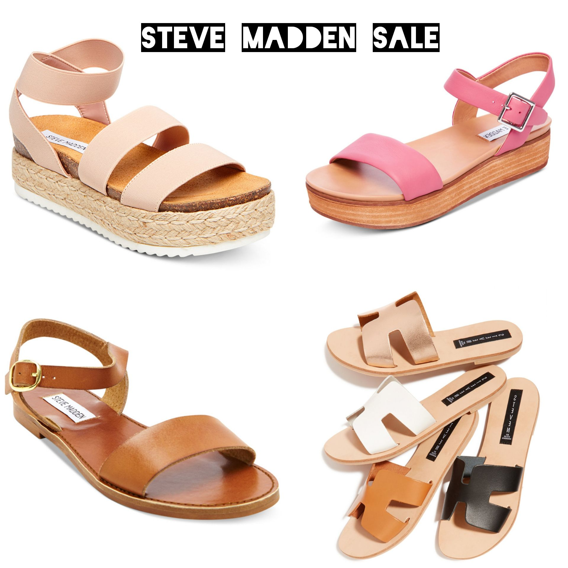 d54cd1154433 Steve Madden SPRING sandals on SALE! - Macys Style Crew
