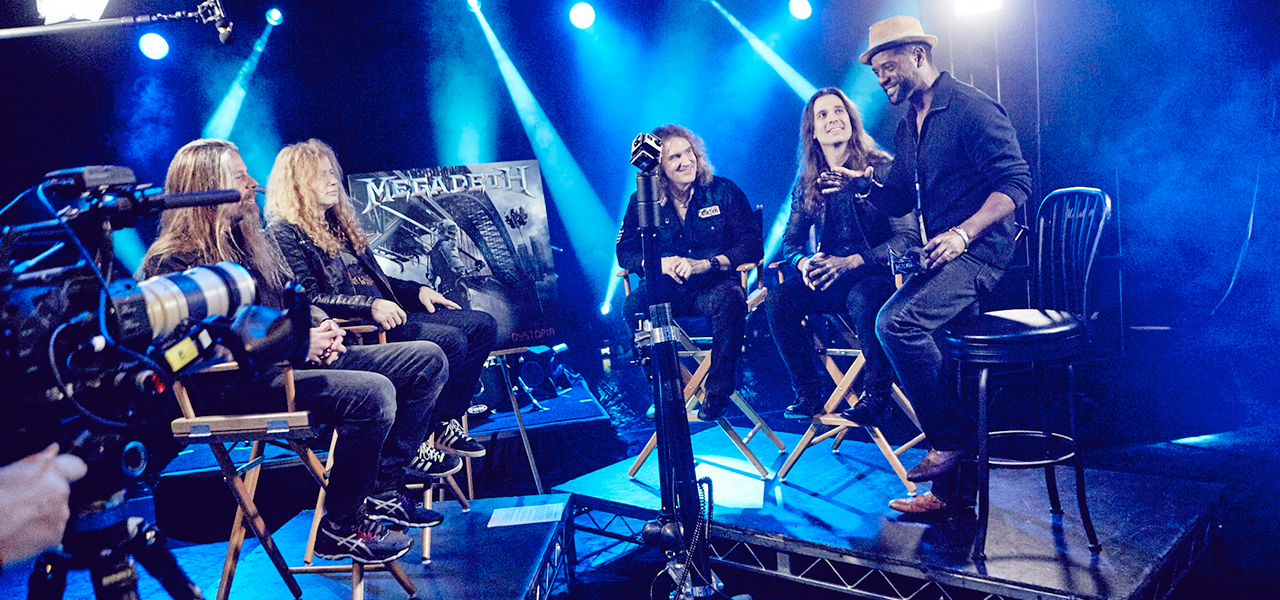 Megadeth Interview With Director Blair Underwood