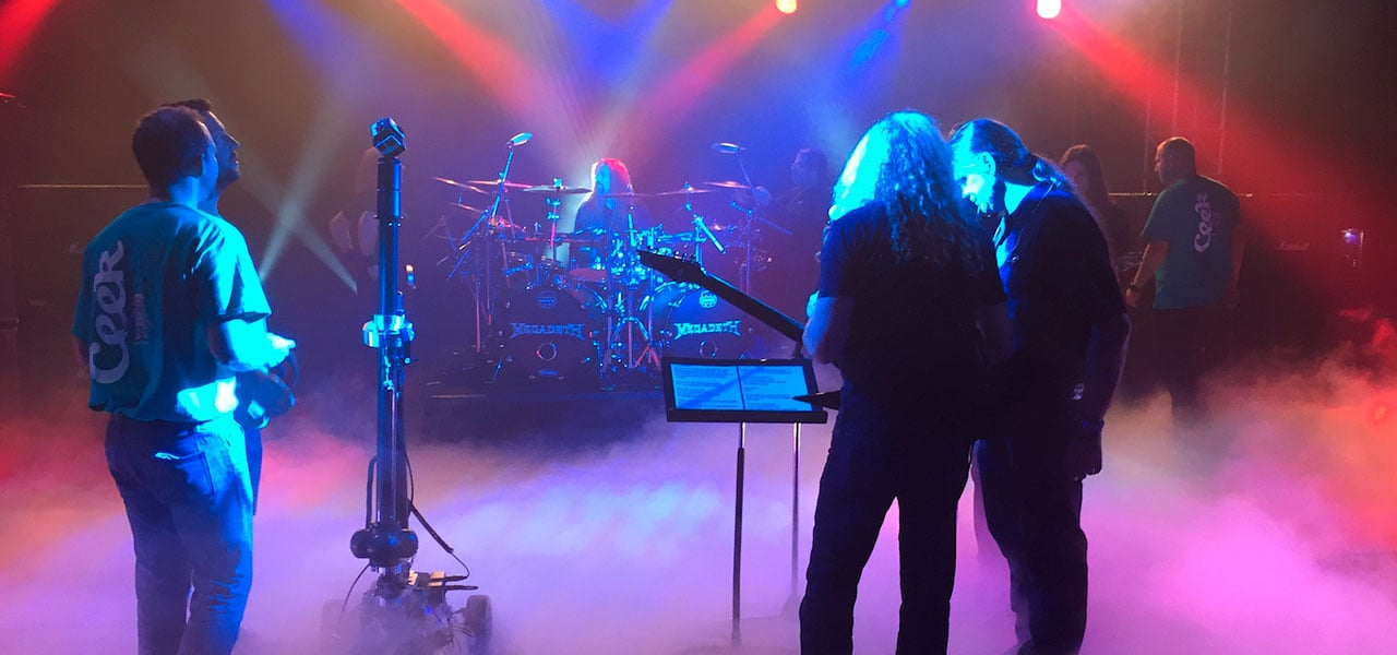 Megadeth Getting Ready to Rock