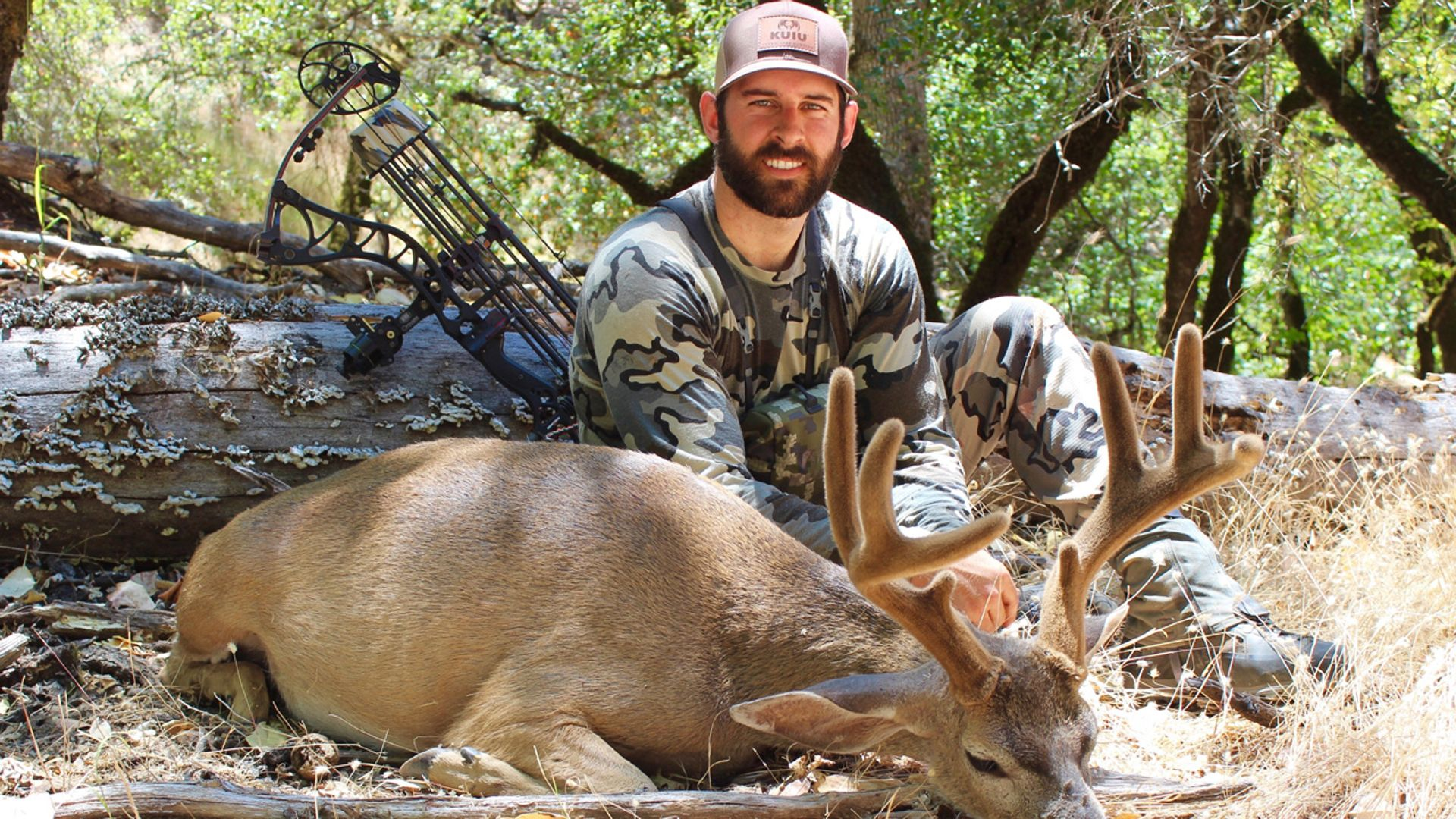 columbian blacktail hunting in california - kuiu basecamp