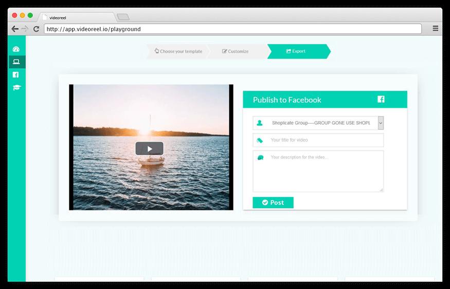 VideoReel - Facebook video template