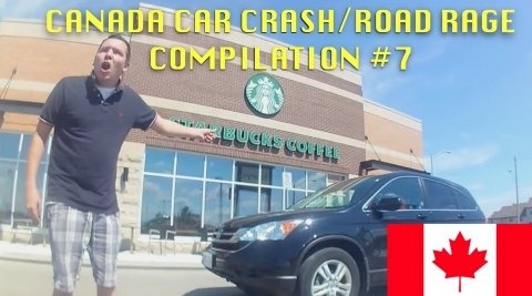 🇨🇦 [CANADA ONLY] CANADIAN CAR CRASH/ROAD RAGE COMPILATION #7