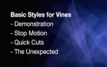 Creating Vines