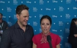 """Onward""   Chris Pratt & Julia Louis Dreyfus at..."