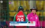 TAMIM IQBAL 47* INNINGS FOR BANGLADESH V IRELAND VIDEO ICC WT20 2016.