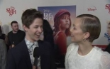"Graham Verchere  & Grace VanderWaal together at ""STARGIRL""..."