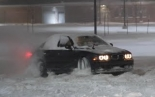 E39 BMW M5 Drifts Through FEET of SNOW!