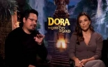 "Eva Longoria &  Michael Pena detail ""Dora and the Lost City..."