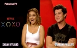 Sarah Hyland & Graham Phillips talks EDM & their new Netflix film 'XOXO'