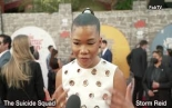 "Storm Reid dazzles at ""The Suicide Squad"" red carpet!"