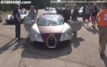 Bugatti Veyron 16.4 vs Porsche 911 Turbo PDK (997) rolling start