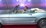 "JOHN LEGEND - at the ""THE VOICE"" season 19 drive-thru"