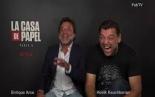 "Money Heist ""La Casa De Papel"" NETFLIX interview with..."