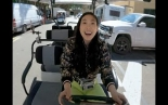 """Golf Cart Tour with Awkwafina - """"Shang-Chi and the Legend of the..."""