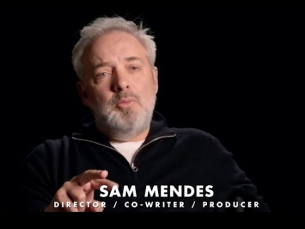 "1917 Sam Mendes director explains ""one single shot"" in"