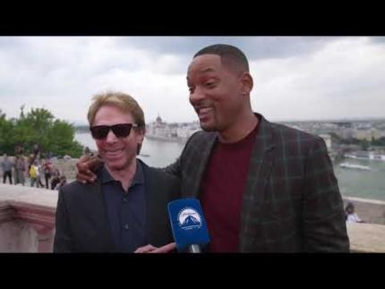 "Jerry Bruckheimer & Will Smith ""GEMINI MAN"" World premiere Budapest"
