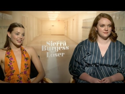 Shannon Purser and Kristine Froseth at Netflix's Summer Of Love