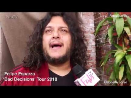Felipe Esparza talks about 'Bad Decisions' on FabTV