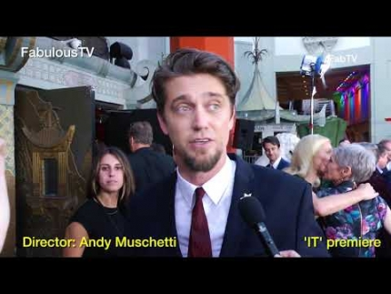 Director: Andy Muschetti at Stephen King's 'IT' premiere FabulousTV