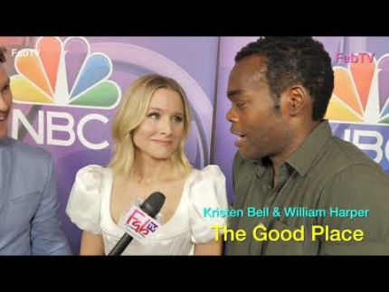 """The Good Place"" with Kristen Bell & William Jackson..."