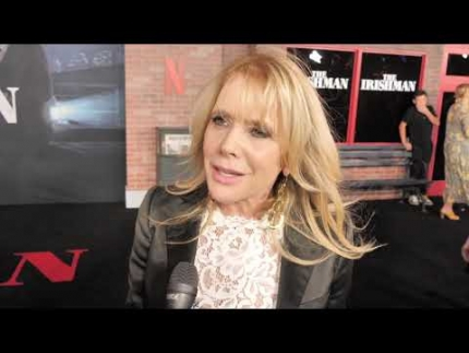 "Rosanna Arquette at the ""The Irishman"" premiere"