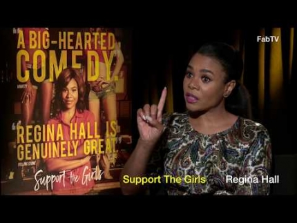 "Regina Hall stars in ""Support the Girls"""