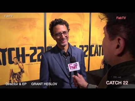 "Director ""GRANT HESLOV"" at the  ""CATCH 22""  premiere"