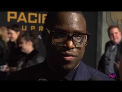 Femi Oguns at the 'Pacific Rim' UPRISING Global Premiere Hollywood