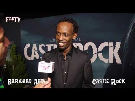 """Barkhad Abdi describes """"Castle Rock"""" at the season 2 premiere"""