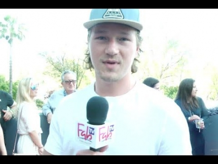 Tyler Toffoli of the Los Angeles Kings on FabTV