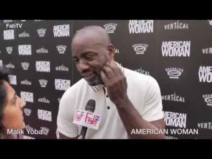 "Malik Yoba at the ""AMERICAN WOMAN""  premiere"