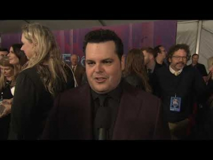 "JOSH GAD talks about ""Frozen 2"" on the red carpet"