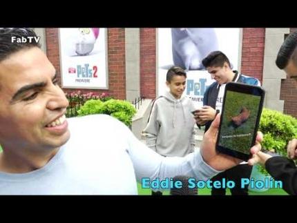 "Eddie Sotelo Piolín at ""The Secret Life of Pets 2""..."