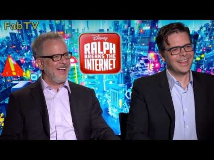 "Directors of ""Ralph Breaks the Internet""  Phil Johnston, Rich Moore"