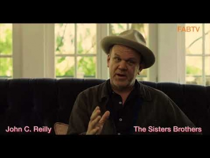 "John C. Reilly details ""The Sisters Brothers"""