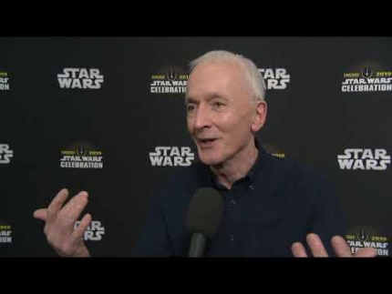 STAR WARS CELEBRATION CHICAGO  Anthony Daniels C3PO