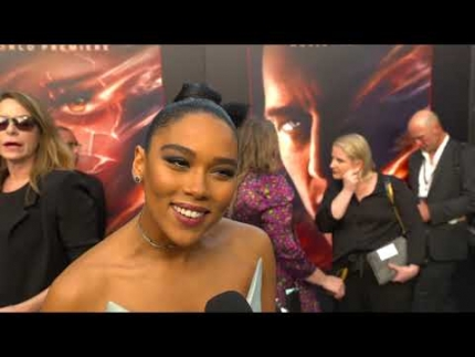 "The amazing Alexandra Shipp at ""DARK PHOENIX""  WORLD PREMIERE"
